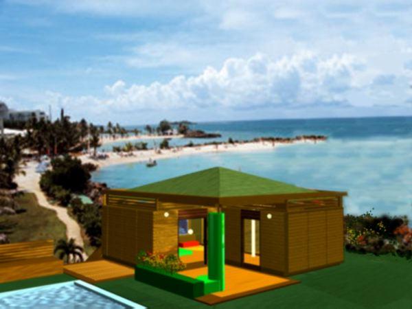 pr t poser la maison bois par maisons. Black Bedroom Furniture Sets. Home Design Ideas
