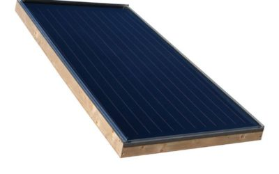 Capteur solaire à cadre bois