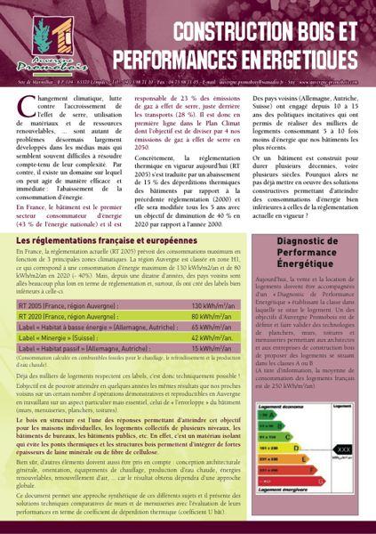 Les Auvergnats font le point sur les performances énergétiques