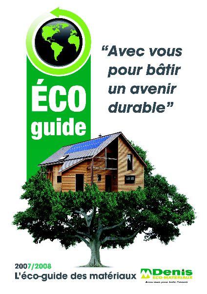 L'impact environnemental des matériaux