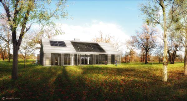 Trois logements peu émetteurs de CO2