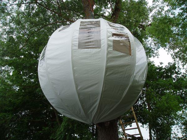 Camping arboricole