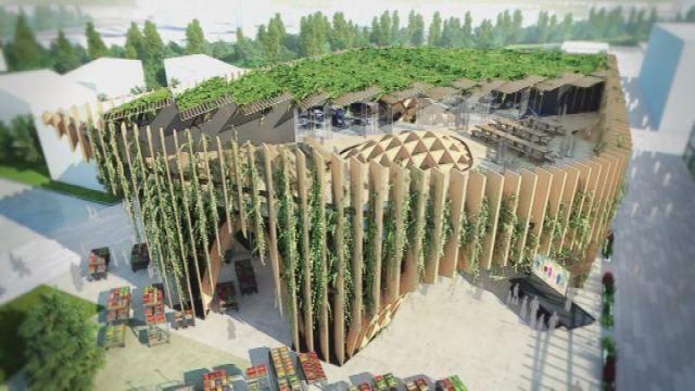 Le savoir-faire français mis en œuvre pour le Pavillon Français de l'exposition universelle 2015 de Milan