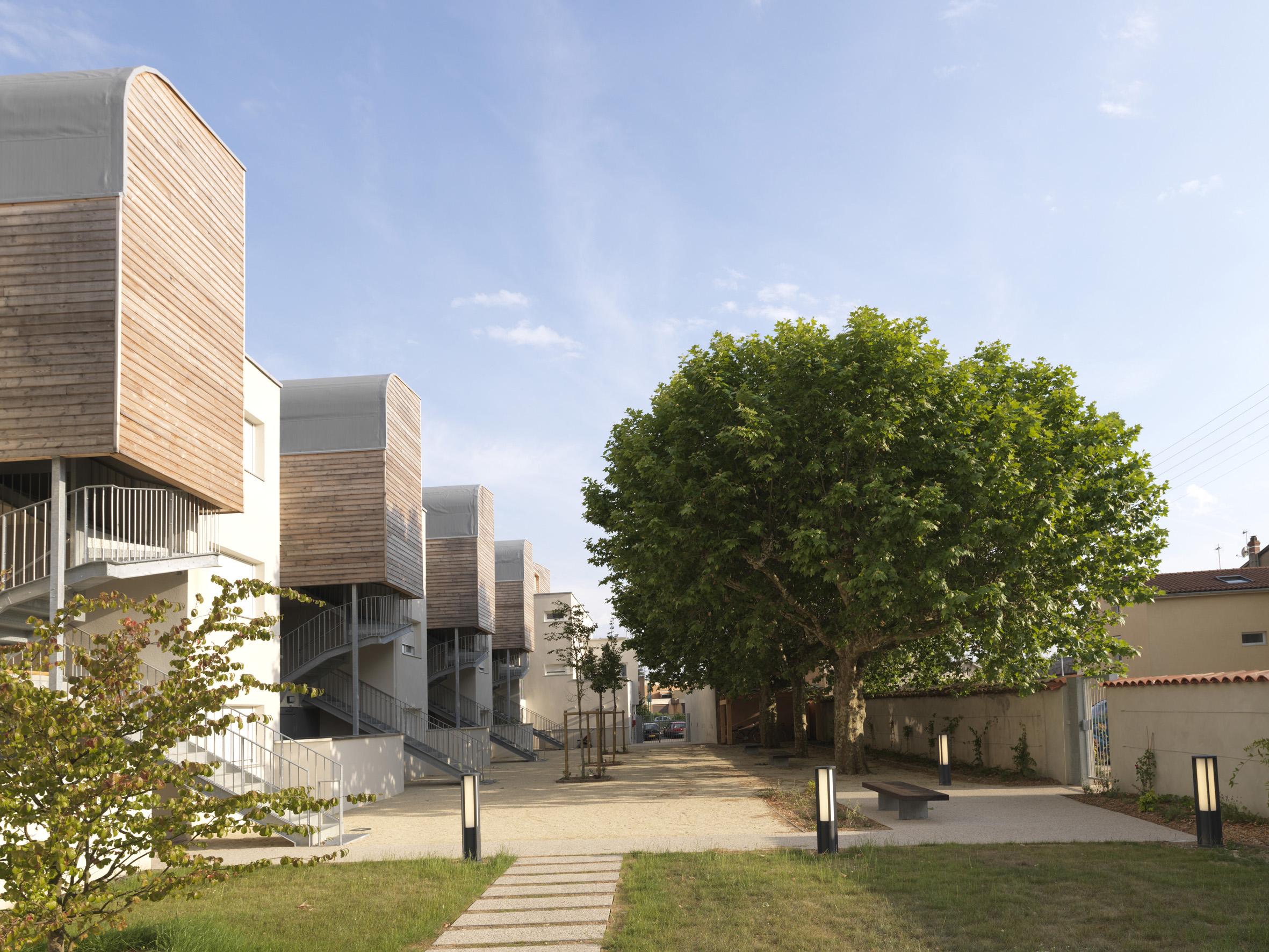 Construction de 19 logements collectifs et intermediaires à Bourg en Bresse (01)