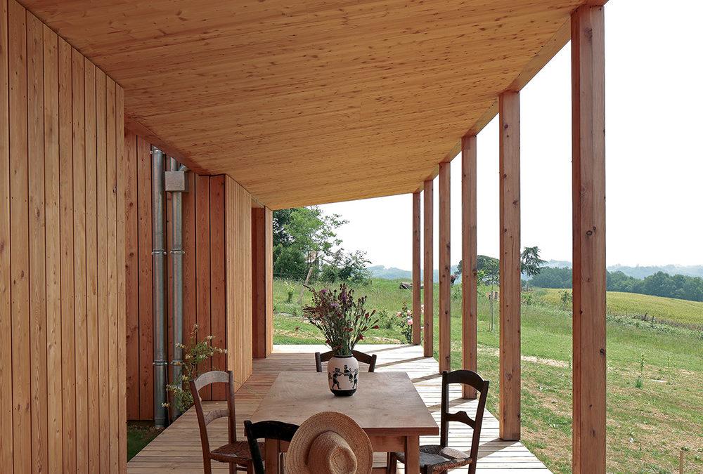 Prix national de la construction bois : 1er prix logements individuels supérieur à 120 m²