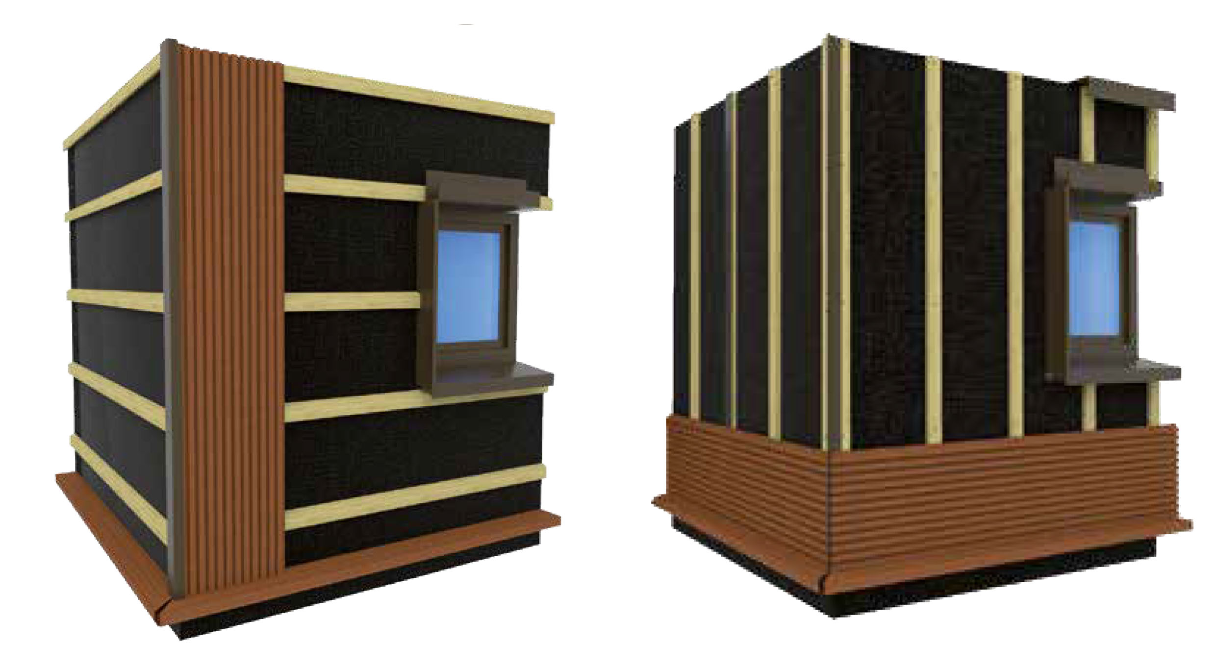 bardage weo de fiberdeck bardage bois faux claire voie composite co extrud garanti 15 ans. Black Bedroom Furniture Sets. Home Design Ideas