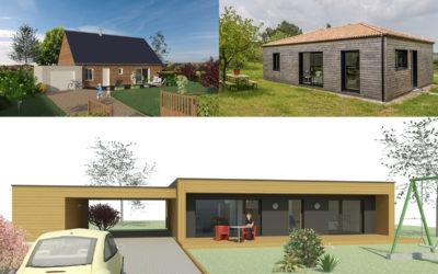 3 exemples de maisons bois économiques et performantes