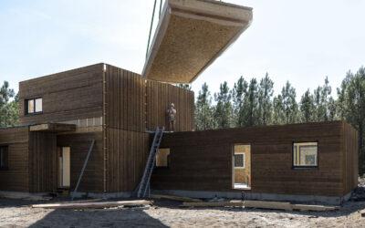 Ami Bois industrialise la préfabrication des caissons de toiture