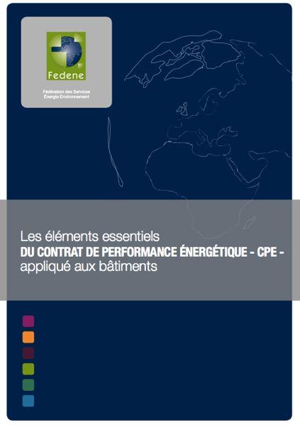 Tout savoir sur le Contrat de Performance Energétique