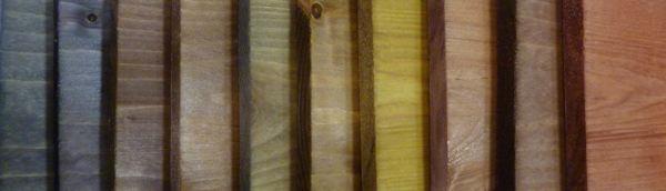 Préservation mise en couleur du bois