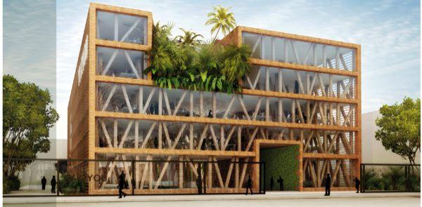 Bâtiment tertiaire et écodomaine en bois récompensés