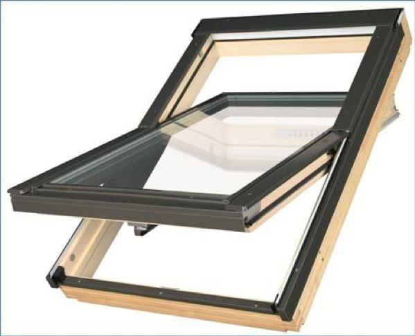 Fenêtre de toit isolante et fonctionnelle