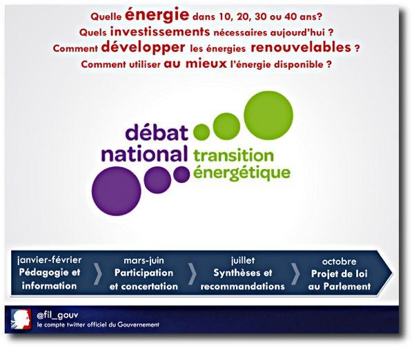 Le débat sur la transition énergétique s'installe dans les régions