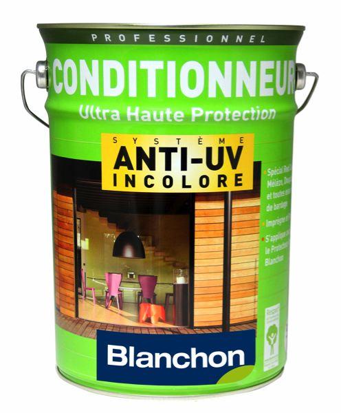 Protection anti-uv incolore des terrasses bois