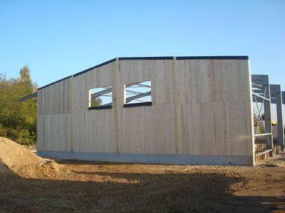 Mur en bois massif pour construction modulaire la maison bois par maisons - La maison bois massif ...