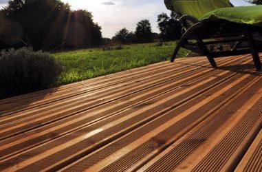 Lames de terrasse bois thermotraitées
