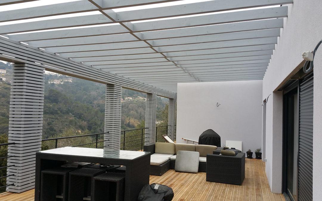 Maison ossature bois SUN 140 d'AMB Sarl Premium