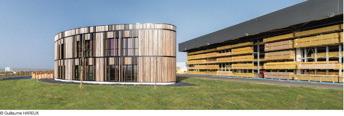 Les bureaux bois de la coopérative Triangle 37 : une vitrine du savoir-faire des artisans