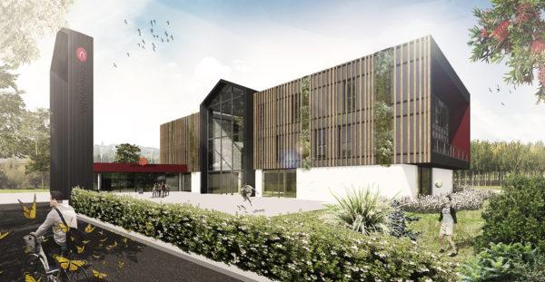 3 couches d'isolants naturels pour le bâtiment positif Convivium d'Innov'Habitat