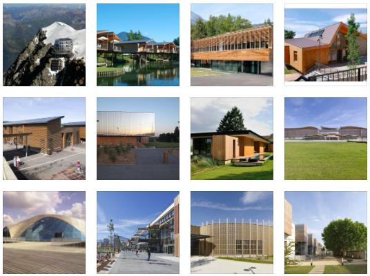 12 finalistes du palmarès des réalisations bois Rhône-Alpes 2013