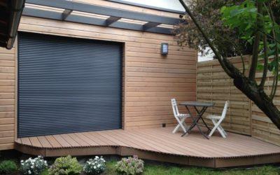 Une extension bois pour créer un bureau version passive par WOODIANCE
