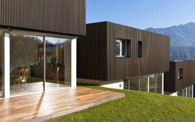 BARDAGE WEO de Fiberdeck : bardage bois à faux claire-voie composite co-extrudé garanti 15 ans contre la décoloration