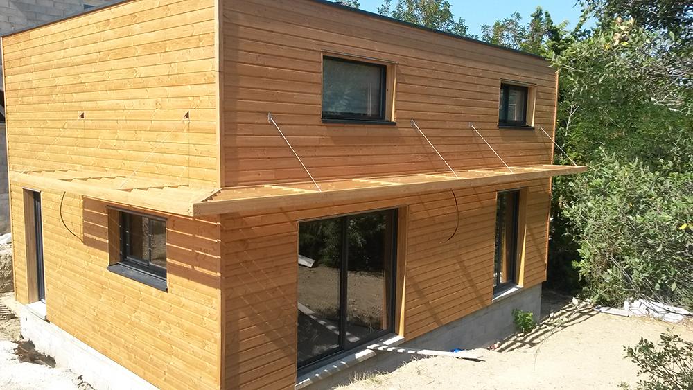 construction bois orne