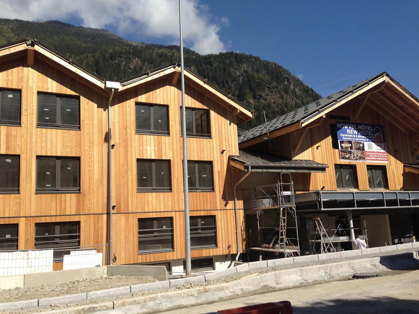 Maison bois et beton finest maison bois et beton with - Maison bois et beton ...
