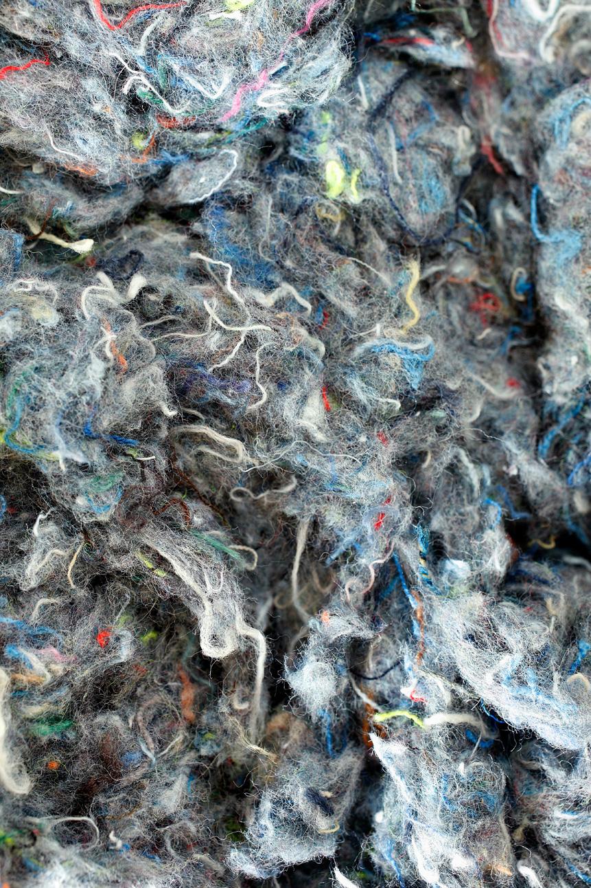 Nouvel isolant en textile recyclé pour le soufflage en combles perdus