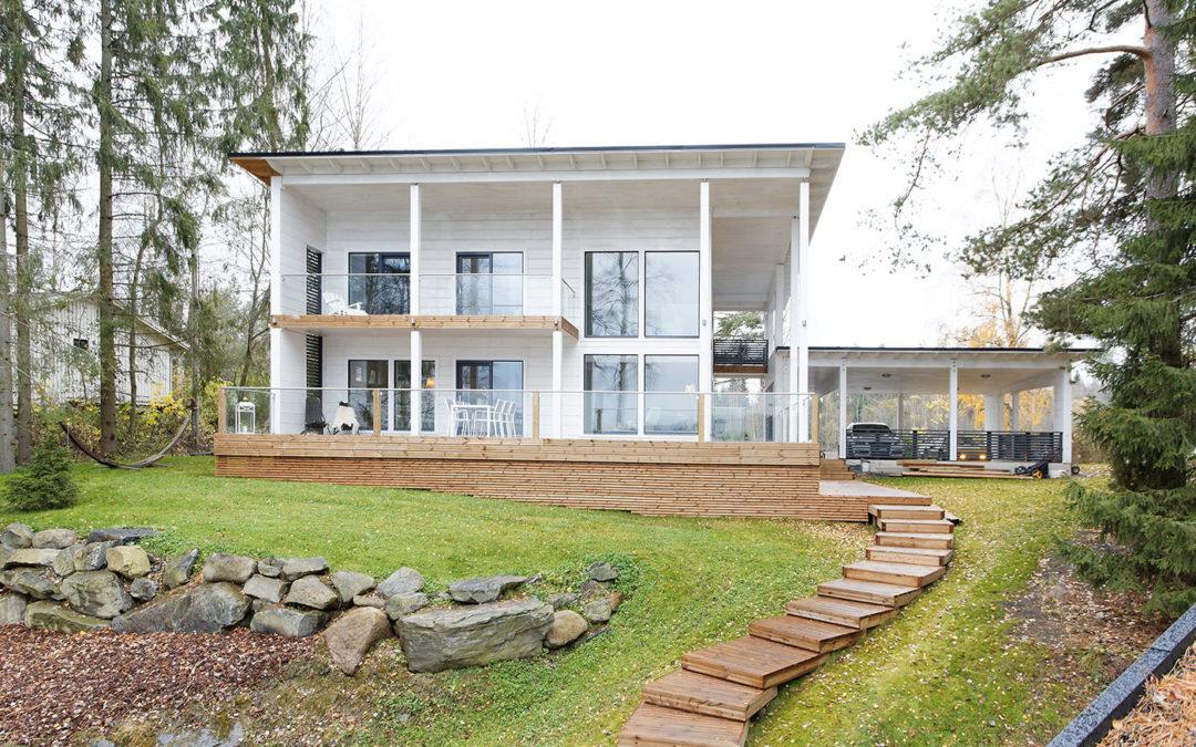 Kontio : maisons en bois massif de Finlande