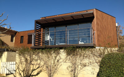 Extension bois de plain pied par «La Maison de Bois»