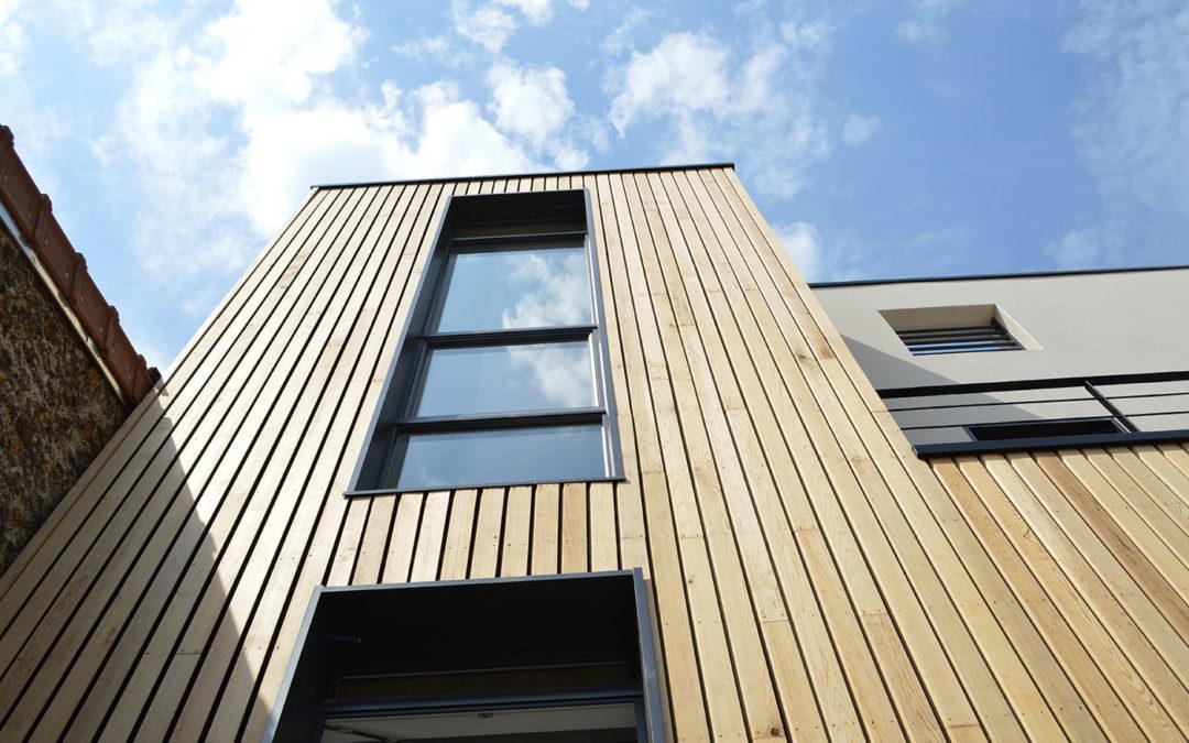 La maison Ecolo d'Issy-les-Moulineaux par Bio Teknik Consulting