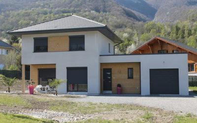 Maison à ossature bois RT2012 en Savoie