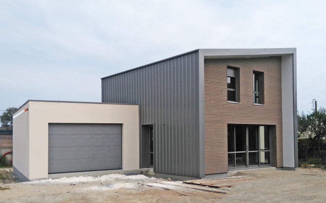 MELIS, maison en bois et maçonnerie par la coopérative ARBOREAL en Loire-Atlantique