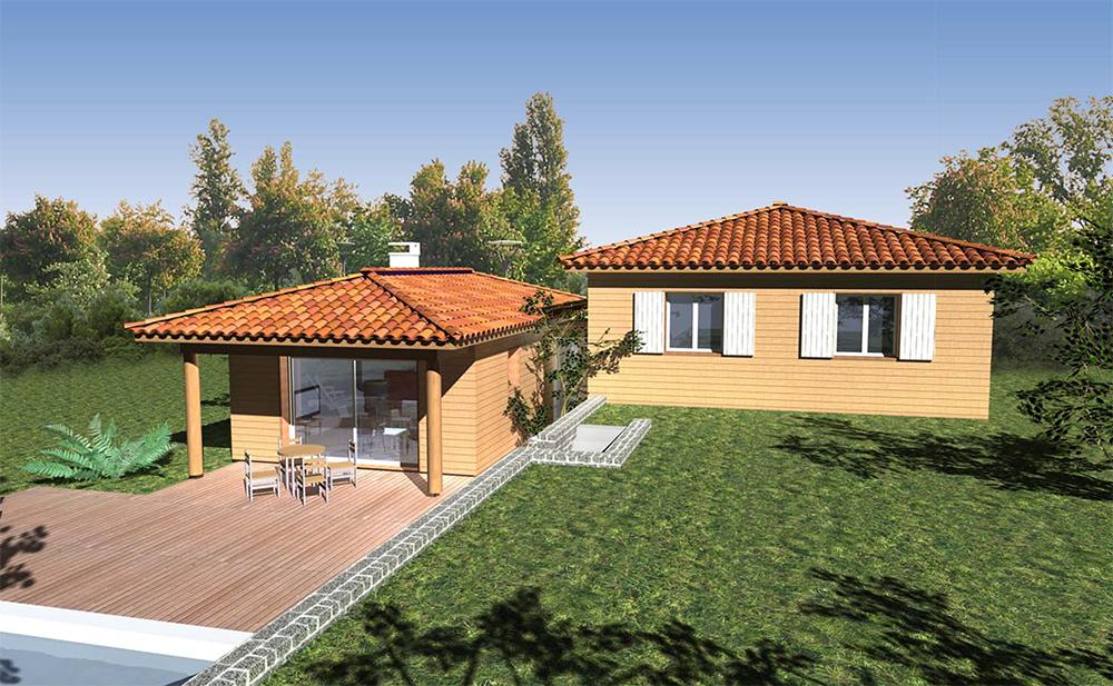 Les Maisons Villas Bois Provence la maison bois par maisons bois com # Maison En Bois Paca