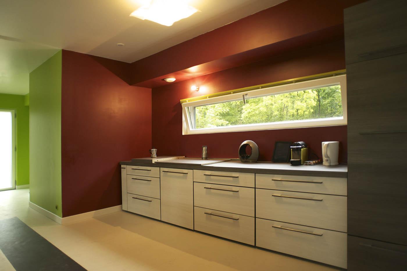 Maison bois nergie positive vermont par ecoxia la for Constructeur maison positive
