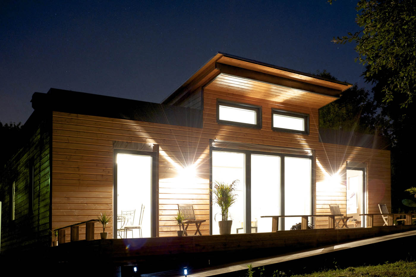 Maison bois à énergie positive VERMONT par ecoXia - la maison bois par maisons-bois.com