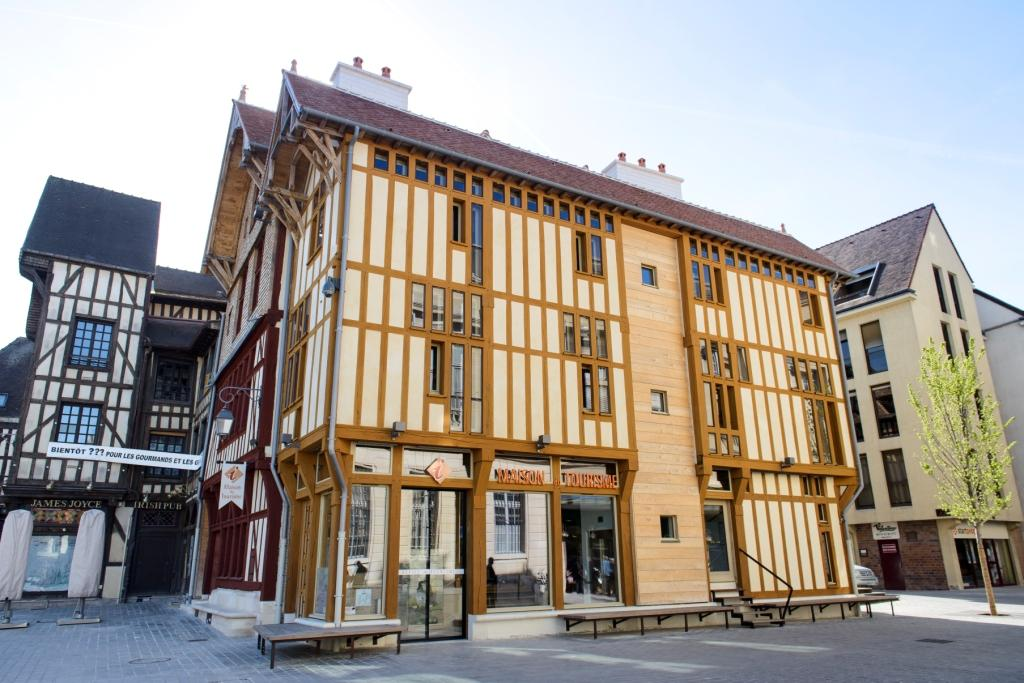Maison à pans de bois du Tourisme de Troyes