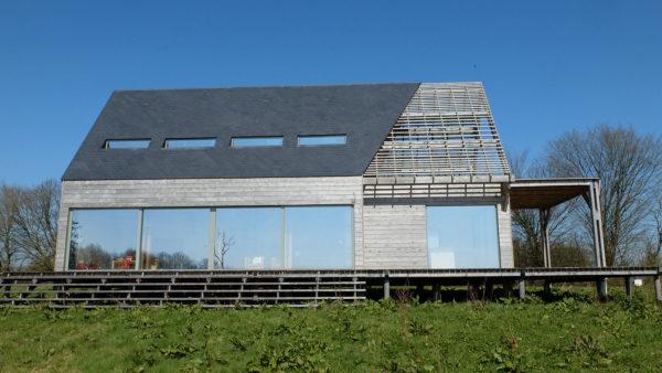Maison bois de la butte par Guillet Sas