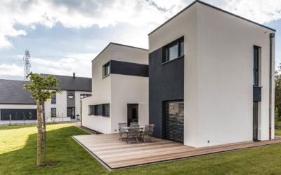 Maison design et performante à ossature bois par Innov'Habitat