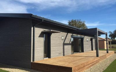 Maison ossature bois H1 de H2O Bois