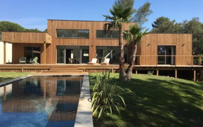 Maison à ossature bois en Occitanie par AMI Bois