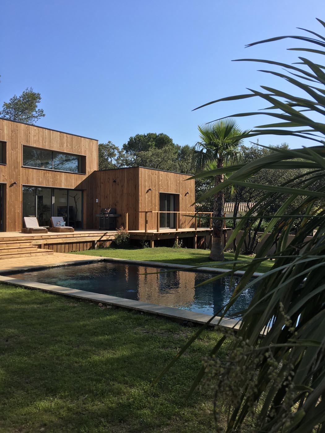 maison ossature bois en occitanie par ami bois. Black Bedroom Furniture Sets. Home Design Ideas