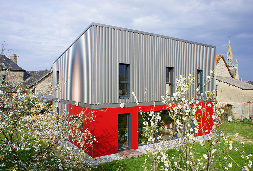Des fondations super isolées pour une maison bois passive