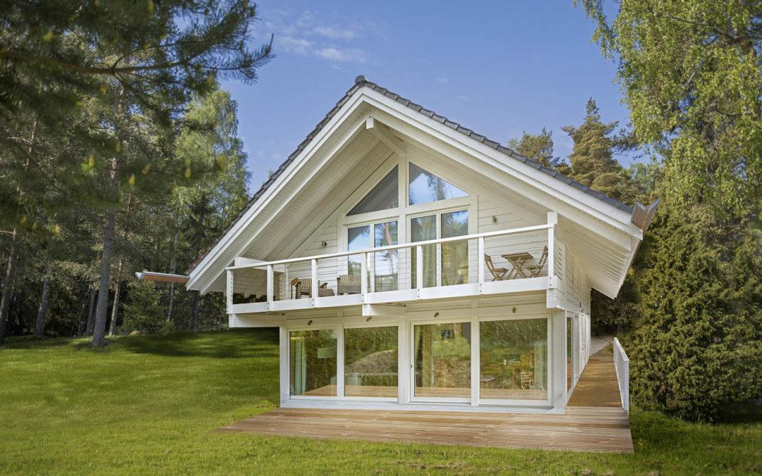Malla, maison en bois massif par Polar Life Haus