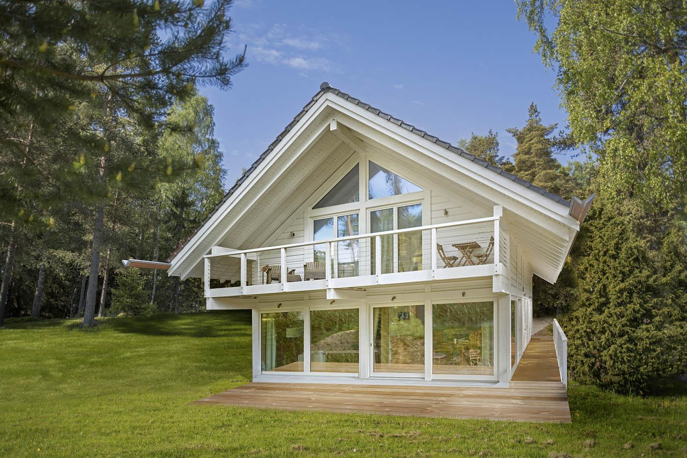 Maison scandinave en bois ventana blog for Maison scandinave bois