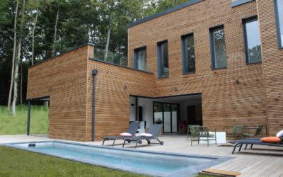 Open House, maison à ossature bois par Maison Bois Cruard