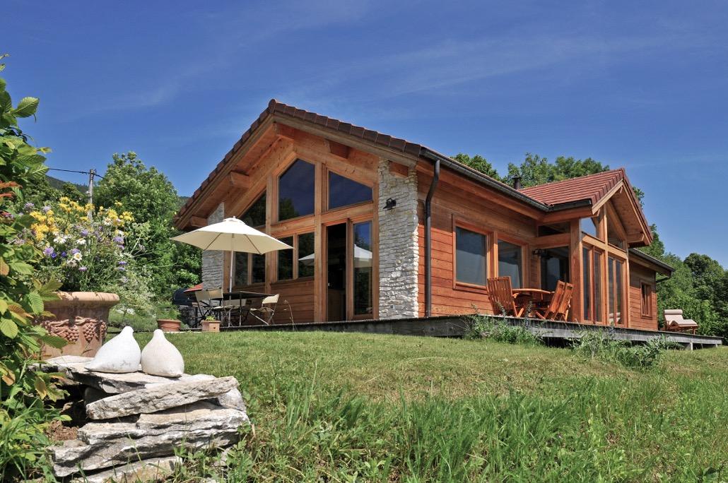 Maison Ossature Bois Drome - Constructeurs de maisons en bois dans la Dr u00f4me (26), exemples de maisons