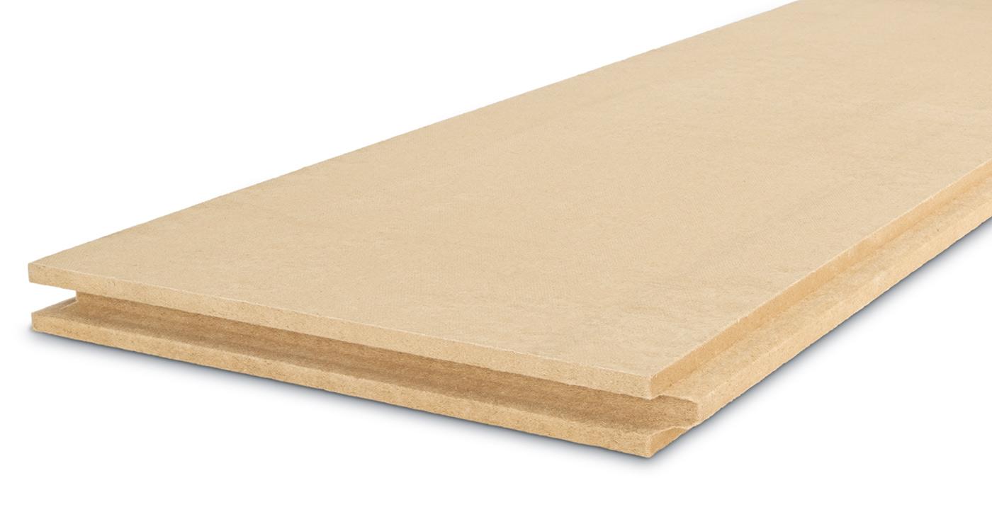 STEICOintegral plaque isolant fibres de bois
