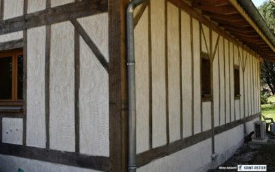 Maison bois et béton de chanvre
